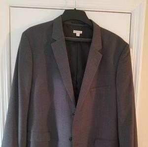 New mens gray sports coat